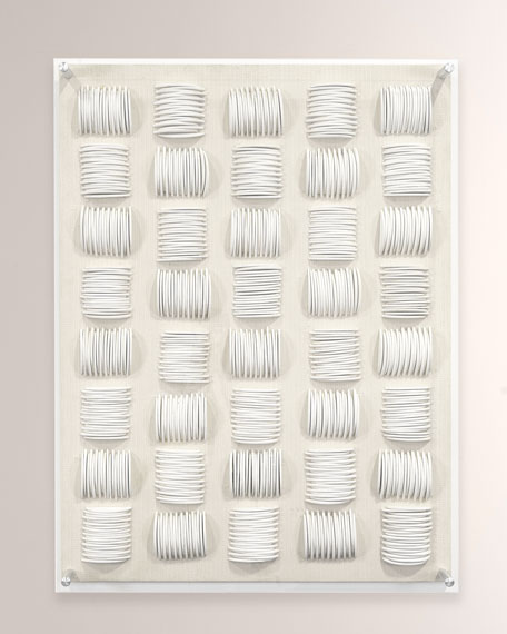 Palecek Iona Acrylic Large Wall Decor