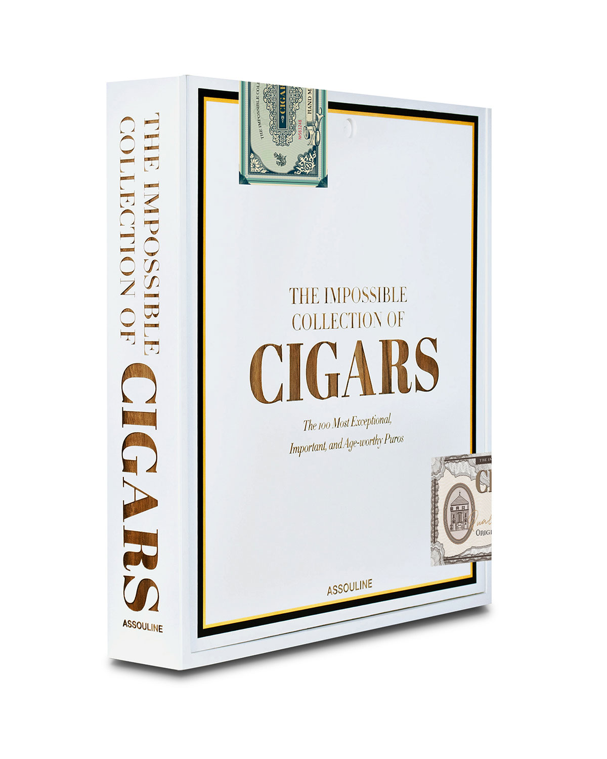 "Assouline ""Impossible Collection of Cigars"" Book"