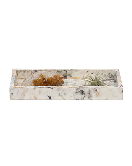 Pigeon and Poodle Tramore Natural Laminated Small Tray