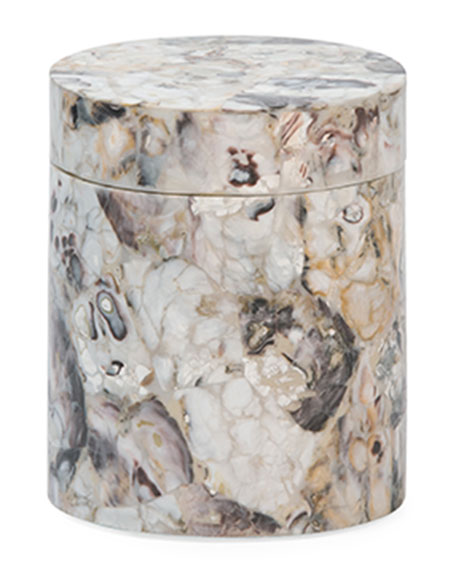 Pigeon and Poodle Tramore Natural Laminated Canister