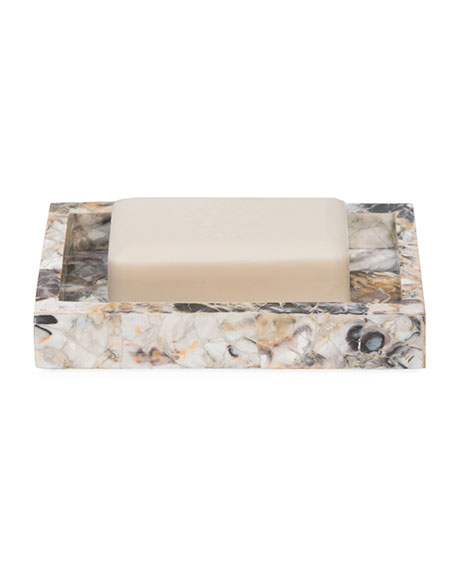 Pigeon and Poodle Tramore Natural Laminated Soap Dish