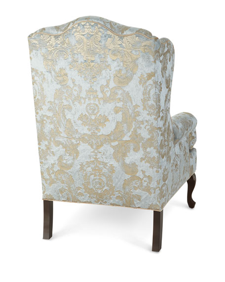 Image 5 of 6: Haute House Priscilla Wing Chair