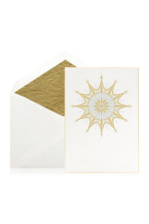 Bell'INVITO Winter Solstice Stationery Set, Box of 10