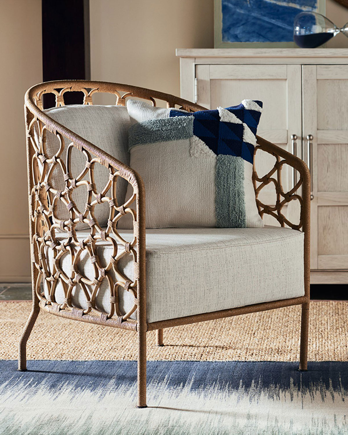 Presidio Rattan Accent Chair