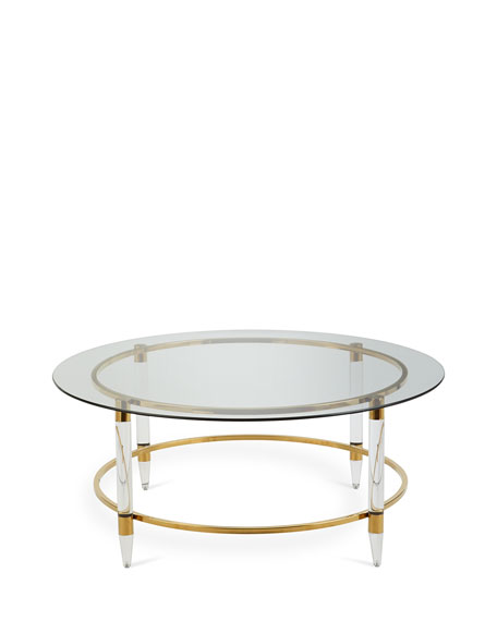 Sinclair Glass Coffee Table