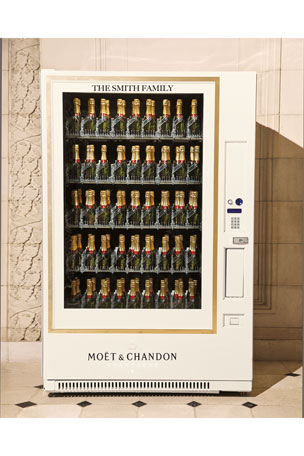 Moet & Chandon Moët & Chandon Champagne Vending Machine
