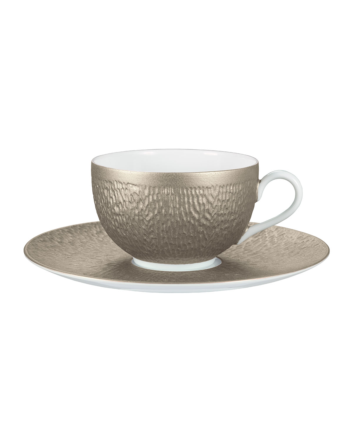 Raynaud Mineral Irise Warm Gray Tea Saucer