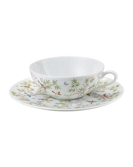 Raynaud Paradis White Tea Saucer