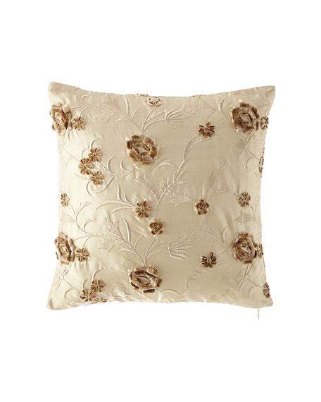 Austin Horn Collection Everleigh Silk Pillow