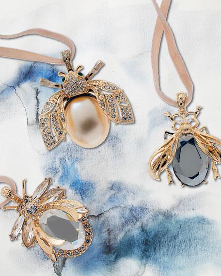 Joanna Buchanan Classic Sparkle Hanging Ornaments, Set of 3