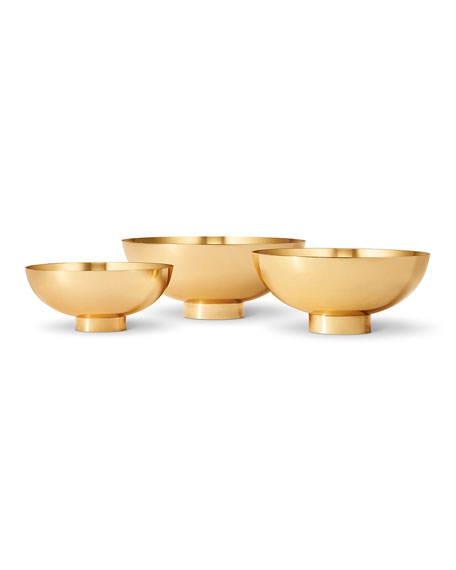 Image 1 of 2: AERIN Sintra Small Footed Bowl