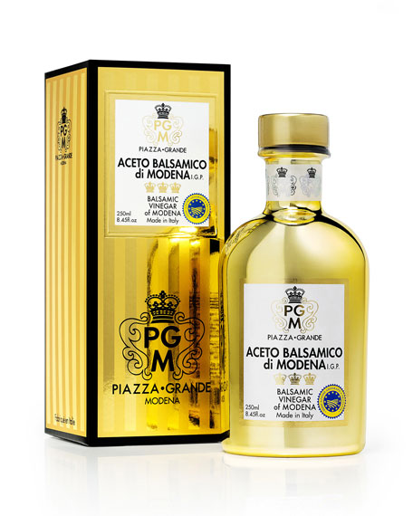 Piazza Grande Modena Golden Collection 3 Crowns Balsamic Vinegar of Modena, 250 mL