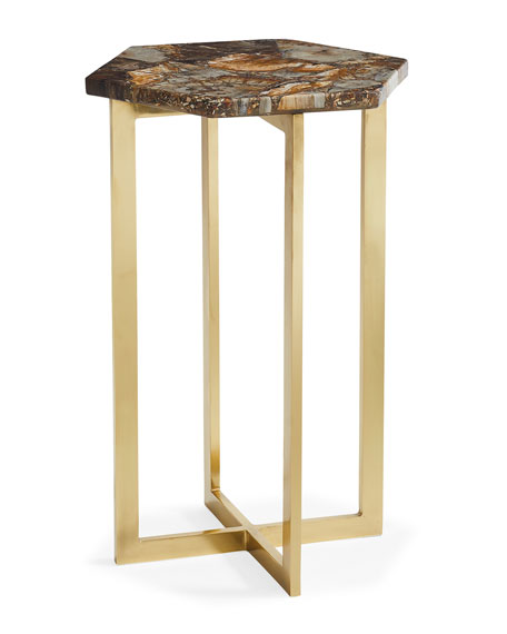 caracole Petra Hex Accent Table