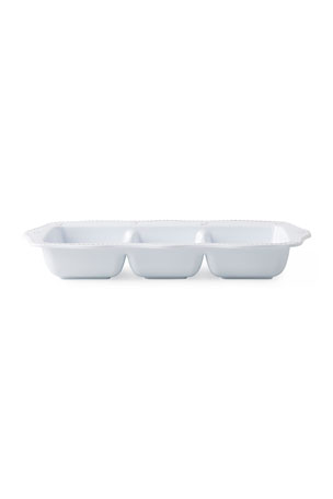 Juliska Berry Thread Melamine Triple Section Server