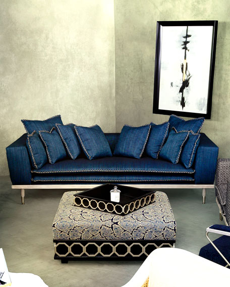 Image 2 of 5: Badgley Mischka Home Palisades Sofa, 95""