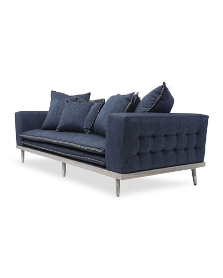 Image 4 of 5: Badgley Mischka Home Palisades Sofa, 95""