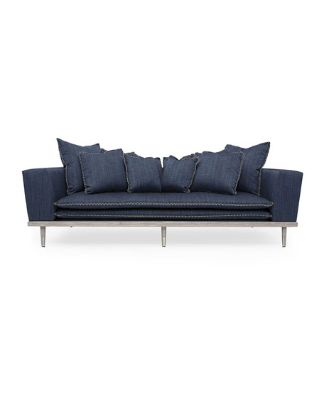 Image 1 of 5: Badgley Mischka Home Palisades Sofa, 95""