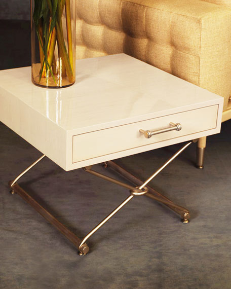 Image 2 of 3: Innova Luxury Palisades Accent Table