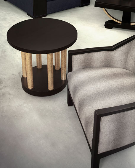 Image 2 of 3: Innova Luxury Bel Air Accent Table