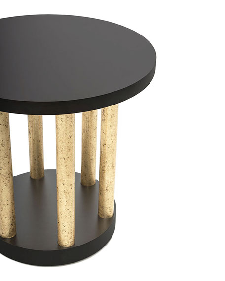 Image 3 of 3: Innova Luxury Bel Air Accent Table