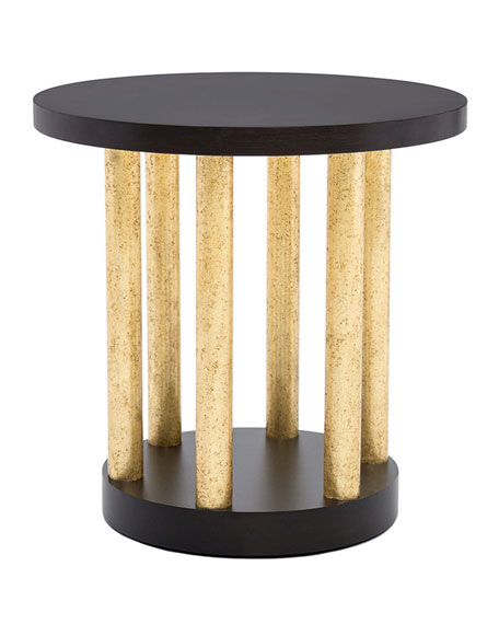 Image 1 of 3: Innova Luxury Bel Air Accent Table