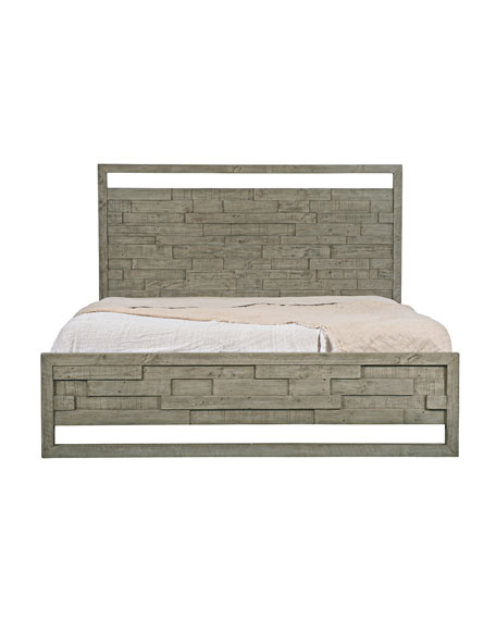 Bernhardt Shaw Panel Bed - California King