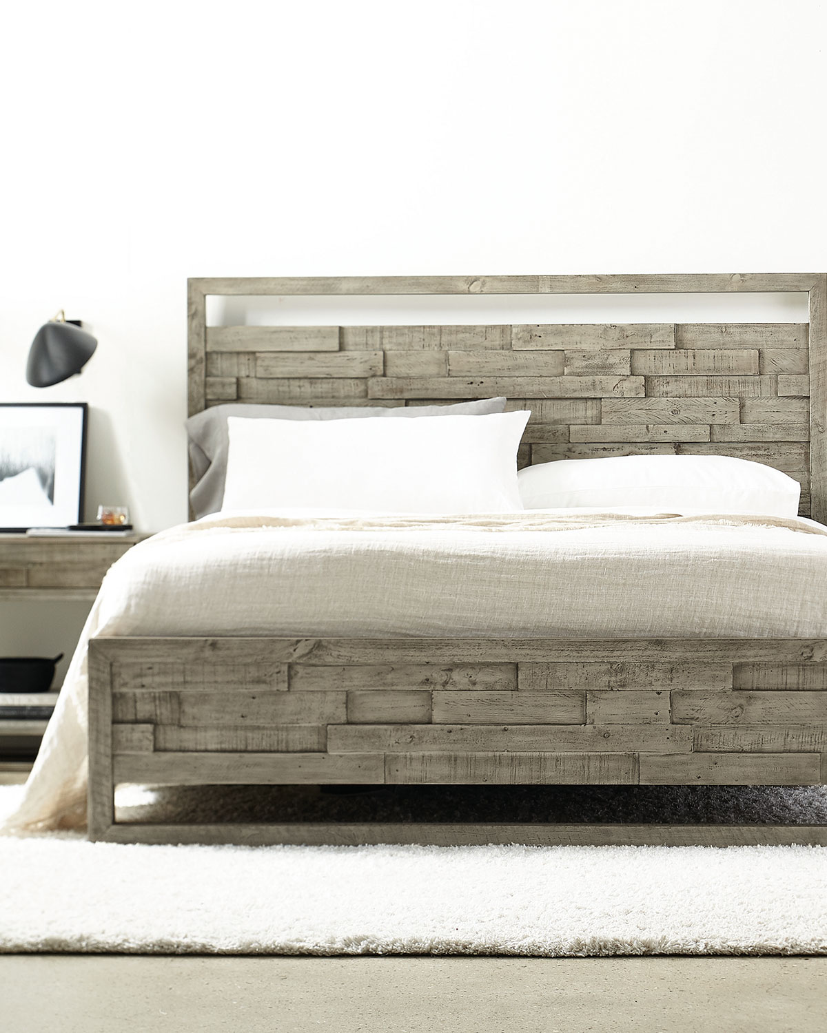 Bernhardt Shaw Panel Bed - King