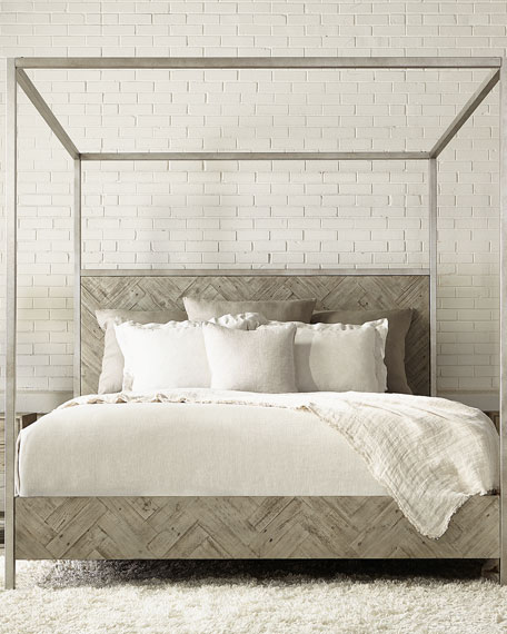 Image 1 of 3: Milo Canopy  Bed - King
