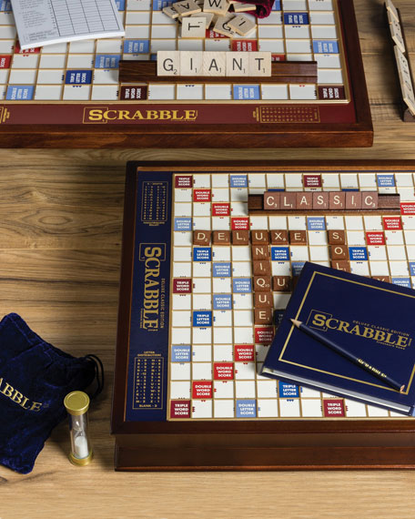 WS Game Company Scrabble Giant Deluxe Edition