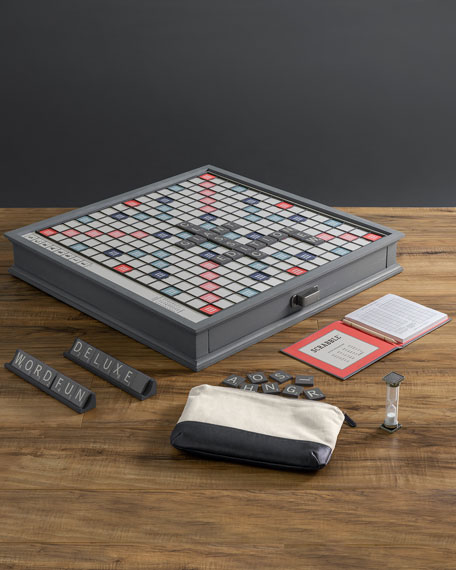 WS Game Company Scrabble Giant Deluxe Design Edition