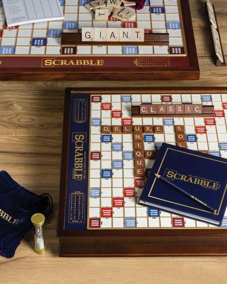 WS Game Company Scrabble Deluxe Edition