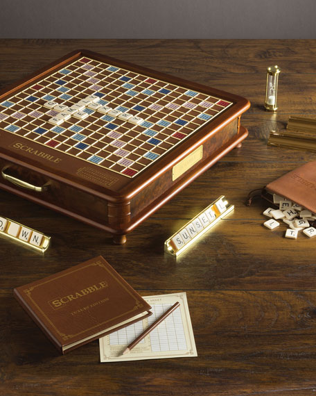 WS Game Company Scrabble Luxury Edition