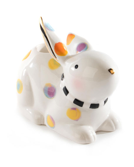 Image 3 of 4: MacKenzie-Childs Dotty Candle Holder