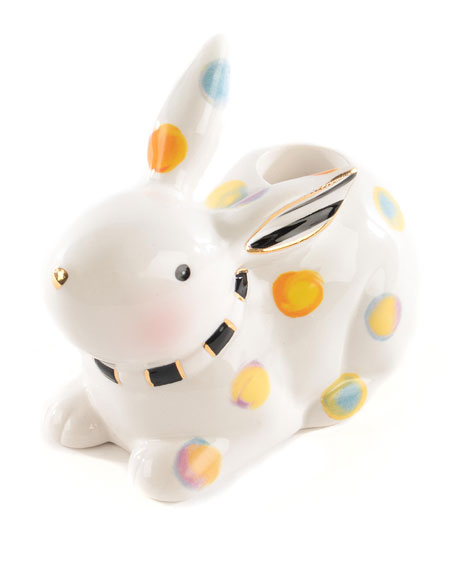 Image 1 of 4: MacKenzie-Childs Dotty Candle Holder