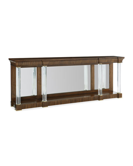 caracole A Clear Perspective Console