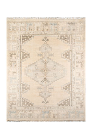 Everson Hand-Knotted Rug, 10' x 14'