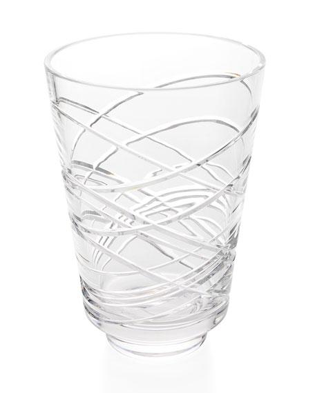 """Waterford Crystal Aran 12"""" Vase"""