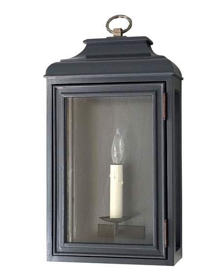 KingsHaven Luytens Low Profile Medium Lantern Sconce