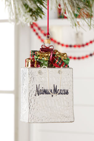 Exclusive 2020 Annual Edition NM Shopping Bag Christmas Ornament