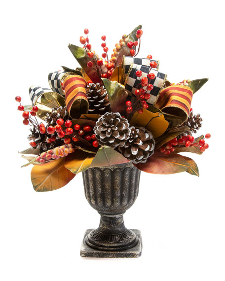 Image 1 of 3: MacKenzie-Childs Harvest Arrangement