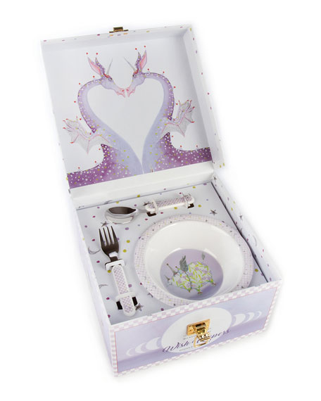 Image 1 of 3: Patience Brewster Wish Keeper Toddler's Dinnerware Set