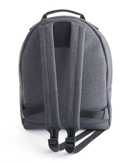 "Image 3 of 3: ROYCE New York Mixed Media 13"" Laptop Backpack"