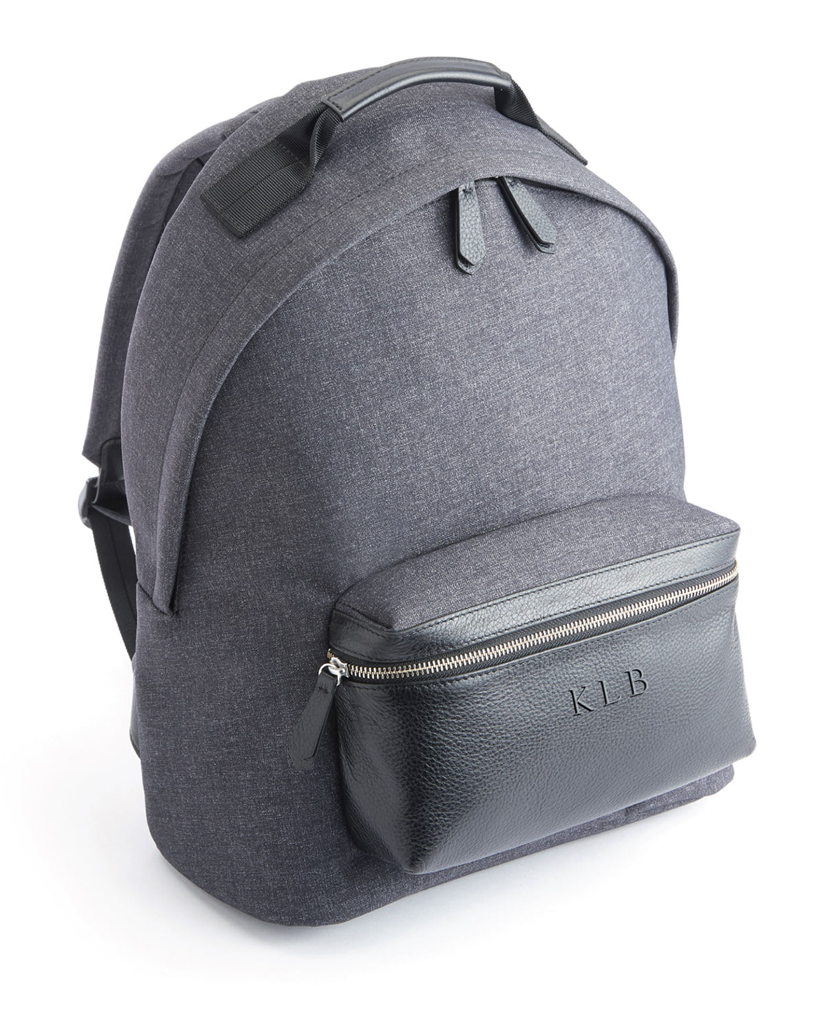 "ROYCE New York Mixed Media 13"" Laptop Backpack"