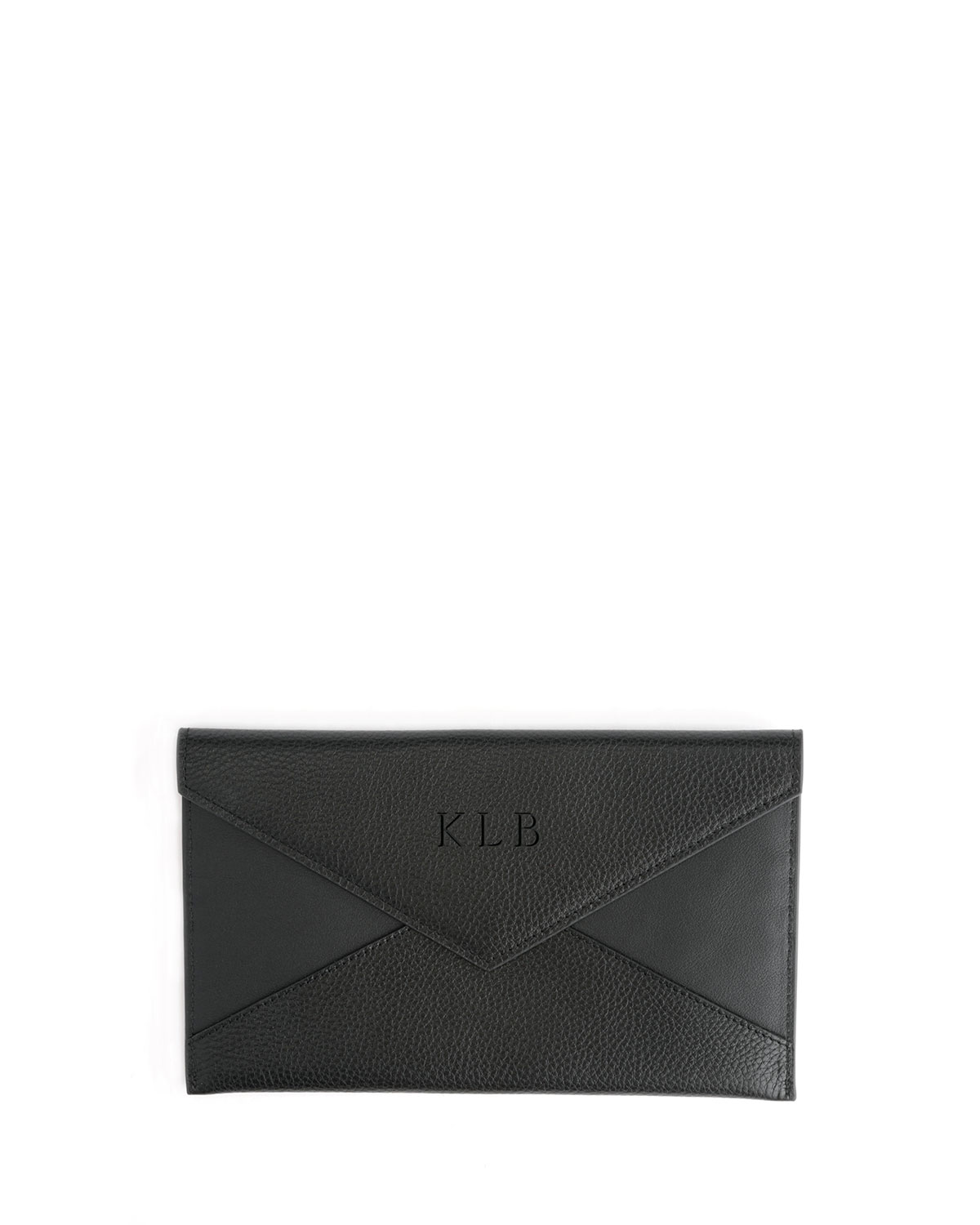 ROYCE New York Envelope Clutch