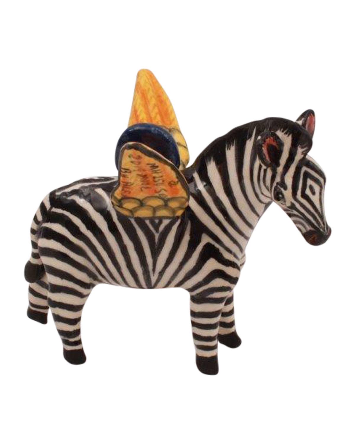 Ardmore Ceramic Art Zebra Ornament