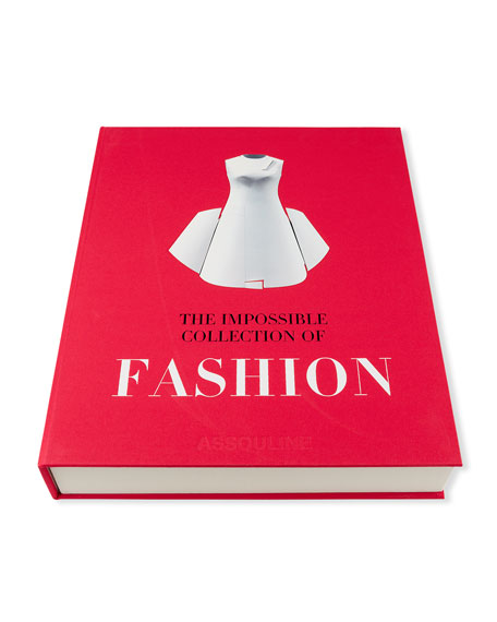 "Image 1 of 5: Assouline ""The Impossible Collection of Fashion"" Book"