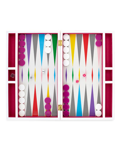 Jonathan Adler Checkerboard Backgammon Set