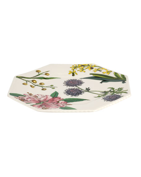 Image 3 of 3: Spode Stafford Blooms Octagonal Plates, Set of 4