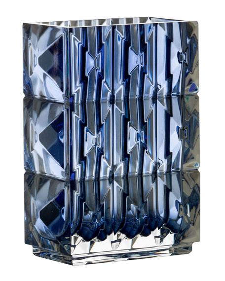 Baccarat Blue Louxor Vase