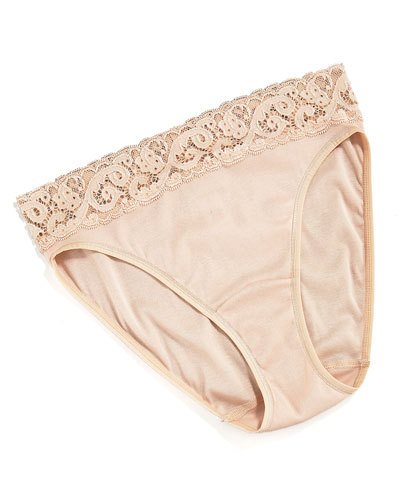 Hanro Moments High Cut Brief, Skin